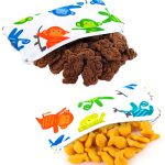 Itzy Ritzy Mini Snack Bag Monkey Mania