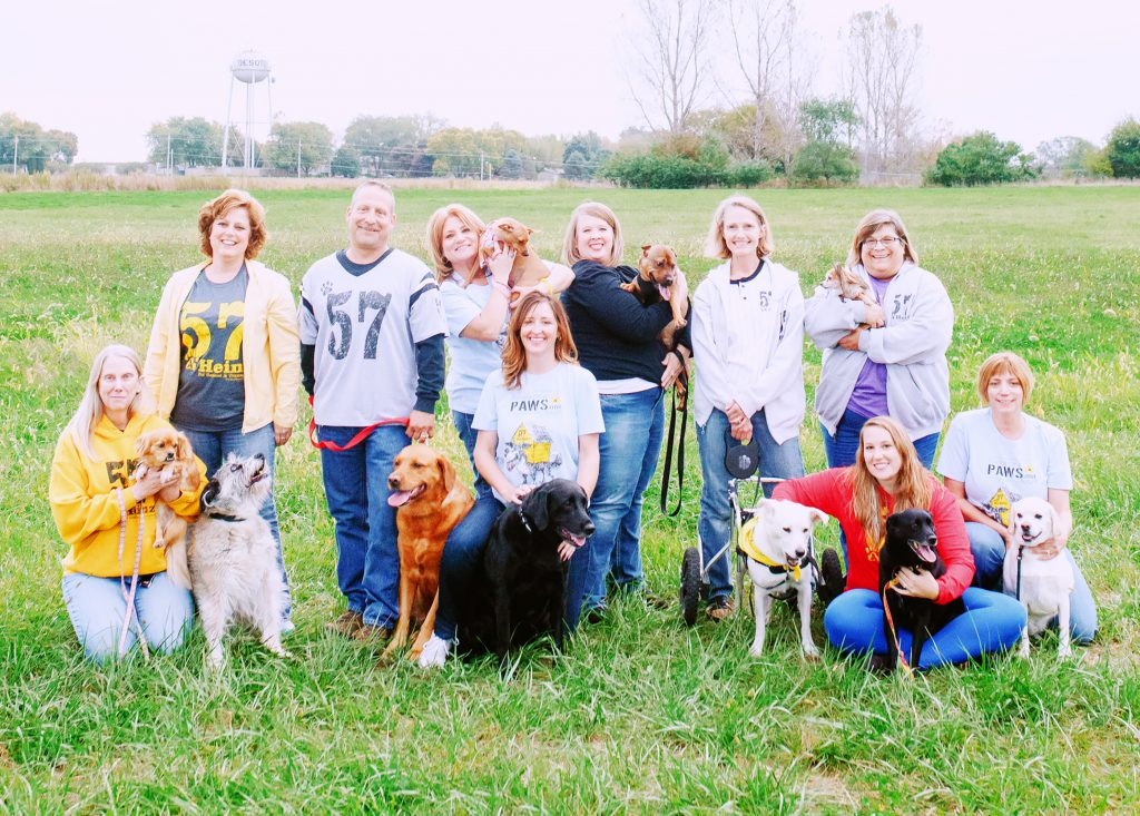 AHeinz57 Pet Rescue Capital Campaign Staff and Volunteers