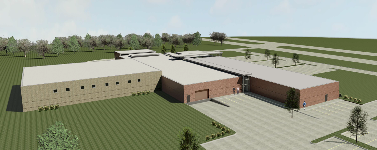 Proposed Dallas County Correctional Facility Rendering