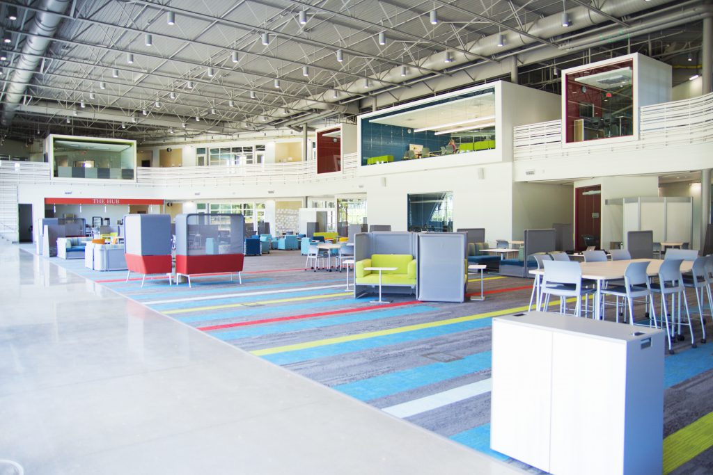 Waukee Innovation and Learning Center Interior